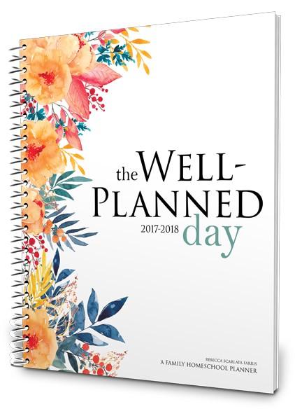 2017-2018 Homeschool Planner