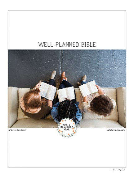 Well Planned Bible