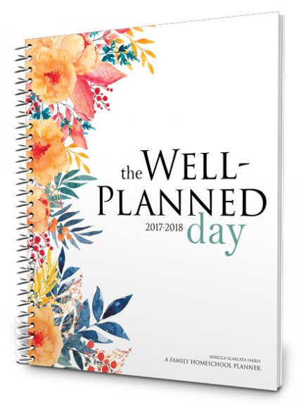 2017-2018 Homeschool Planner